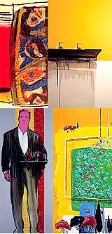 Έκθεση ζωγραφικής Βασ. Καρακατσάνη, γκαλ. Αθαν. Πεφτουλίδη, Οκτ. - Νοέμβρ. - Αλεξανδρούπολη