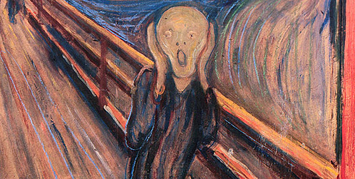 Edvard Munche – The Scream (1895)