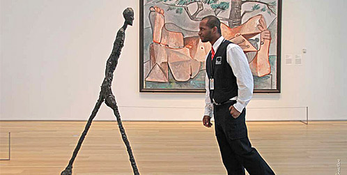 Alberto Giacometti - Walking Man 1 (1961)
