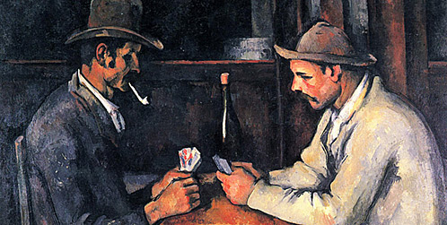 Paul Cezanne- The Card Players (1892-93)
