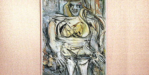 Willem de Kooning -Woman III (1953)