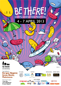 Be There Festival, Το animation πάει Κέρκυρα